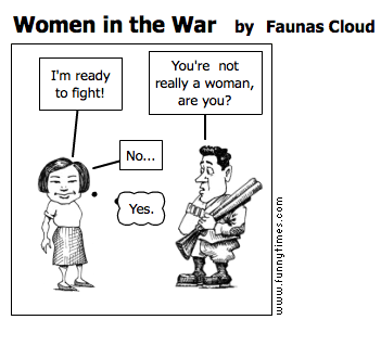 Women in the War by Faunas Cloud