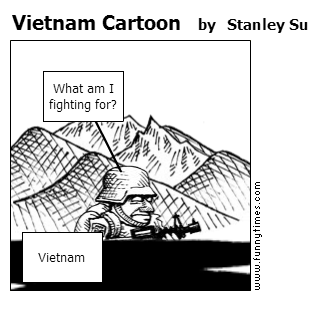 Vietnam Cartoon by Stanley Su