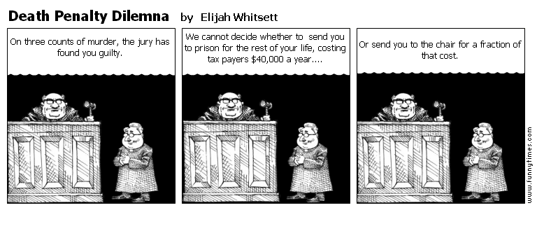 Death Penalty Dilemna by Elijah Whitsett
