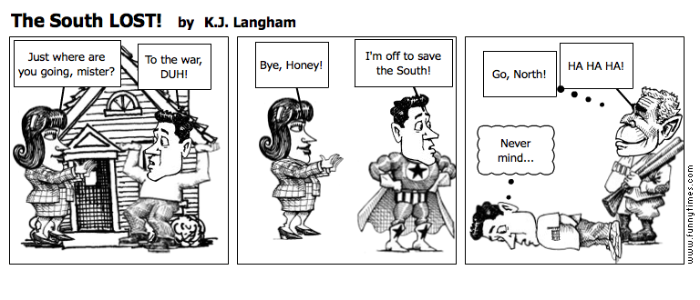 The South LOST by K.J. Langham