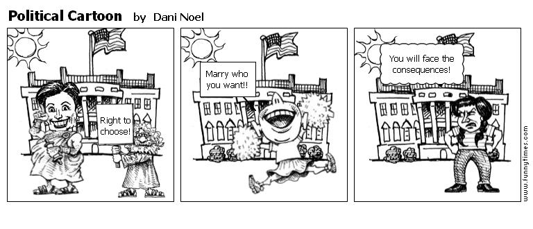 Political Cartoon by Dani Noel