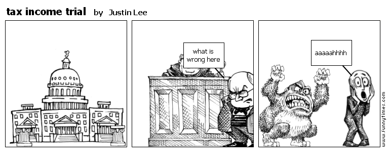 tax income trial by Justin Lee