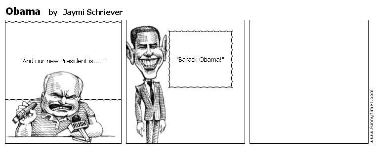 Obama by Jaymi Schriever