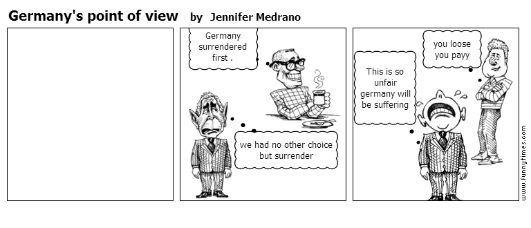 Germany's point of view by Jennifer Medrano