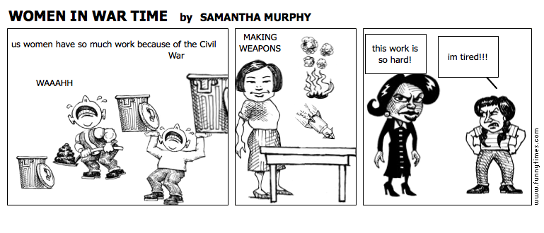 WOMEN IN WAR TIME by SAMANTHA MURPHY