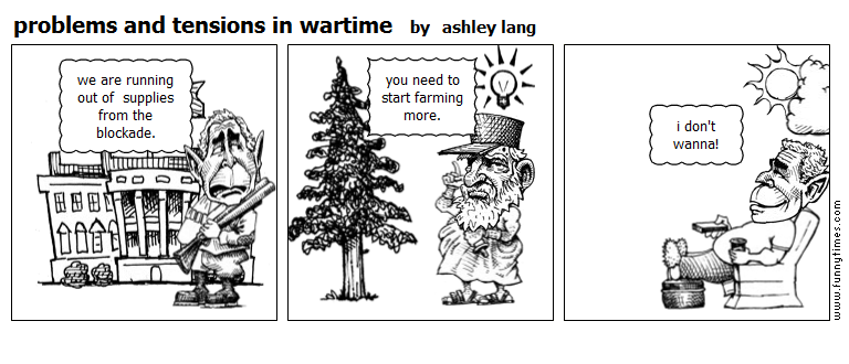 problems and tensions in wartime by ashley lang