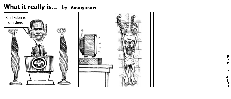 What it really is... by Anonymous