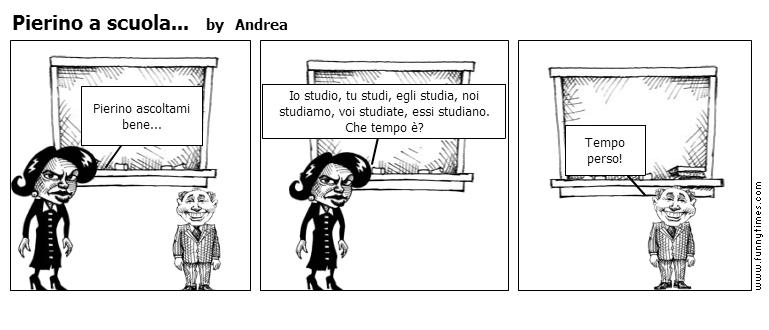 Pierino a scuola... by Andrea