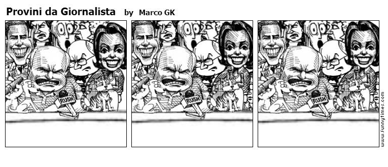 Provini da Giornalista by Marco GK