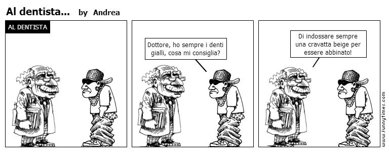 Al dentista... by Andrea