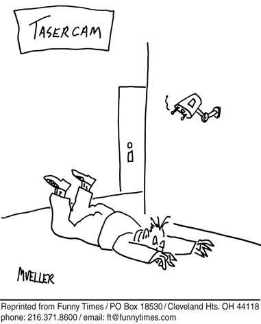 Funny mueller technology camera  cartoon, March 06, 2013