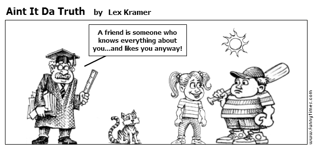 Aint It Da Truth by Lex Kramer
