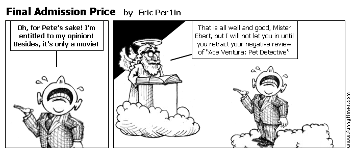 Final Admission Price by Eric Per1in