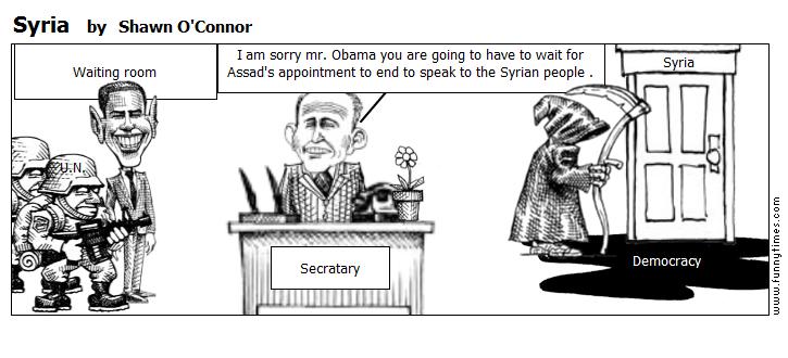 Syria by Shawn O'Connor