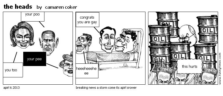 the heads by camaren coker