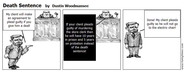 Death Sentence by Dustin Woodmansee