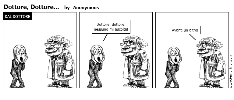 Dottore, Dottore... by Anonymous