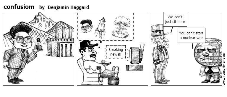 confusiom by Benjamin Haggard