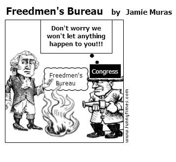 Freedmen's Bureau by Jamie Muras