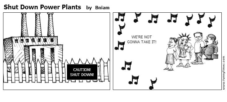 Shut Down Power Plants by Bniam