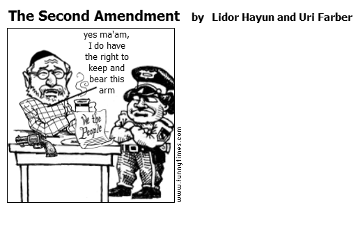 The Second Amendment by Lidor Hayun and Uri Farber