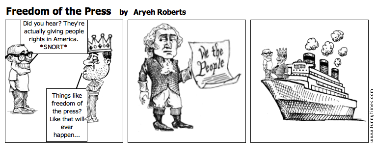 Freedom of the Press by Aryeh Roberts