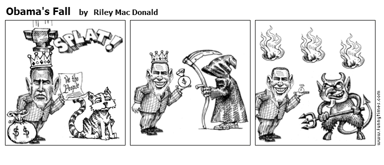 Obama's Fall by Riley Mac Donald