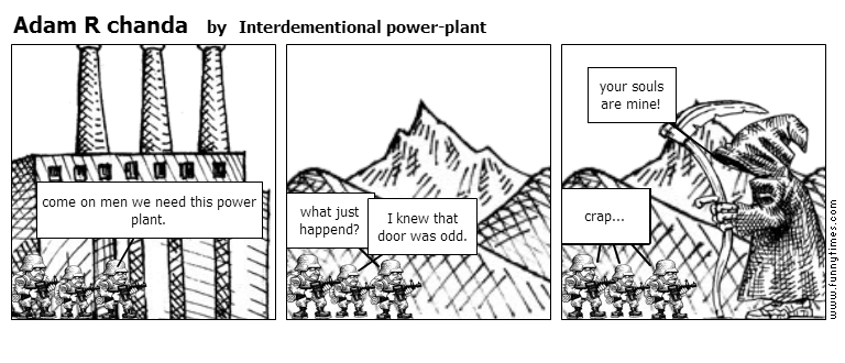 Adam R chanda by Interdementional power-plant