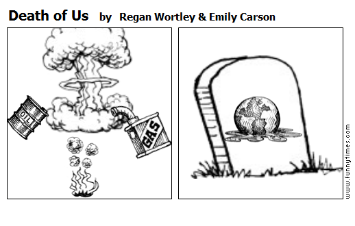 Death of Us by Regan Wortley  Emily Carson
