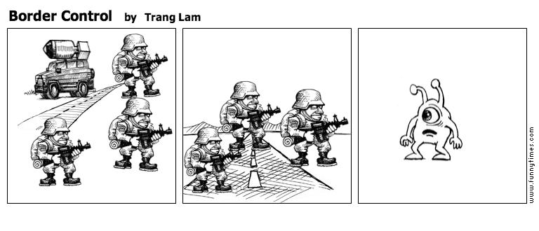 Border Control by Trang Lam