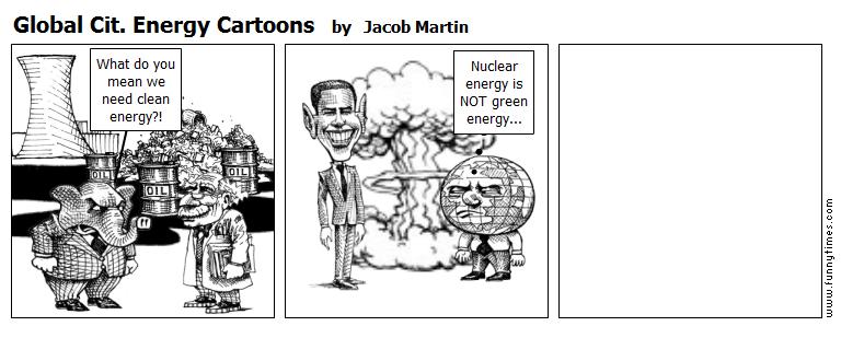 Global Cit. Energy Cartoons by Jacob Martin