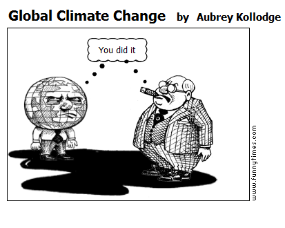Global Climate Change by Aubrey Kollodge