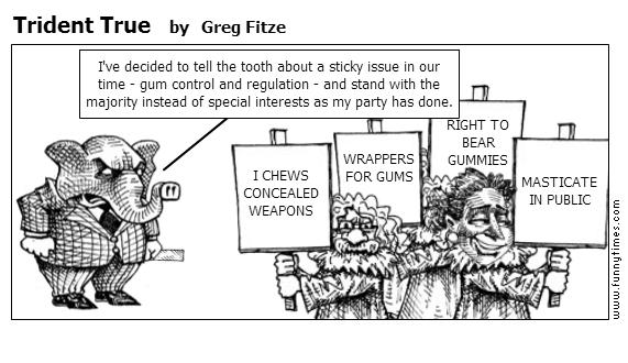 Trident True by Greg Fitze