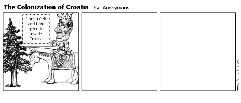 The Colonization of Croatia by Anonymous