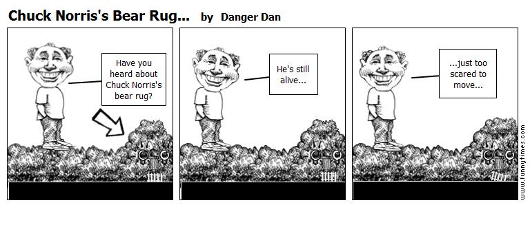 Chuck Norris's Bear Rug... by Danger Dan