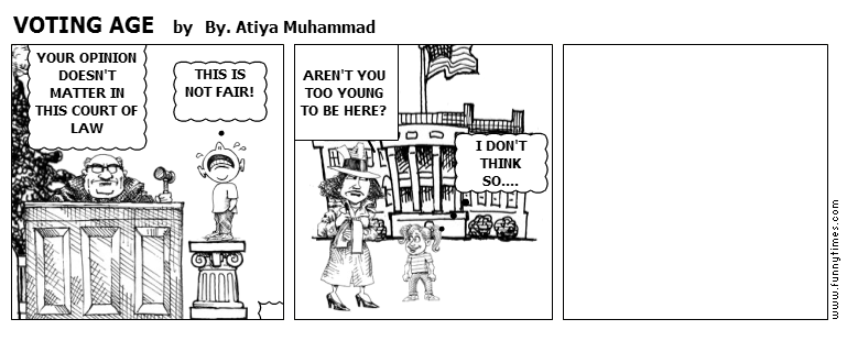 VOTING AGE by By. Atiya Muhammad