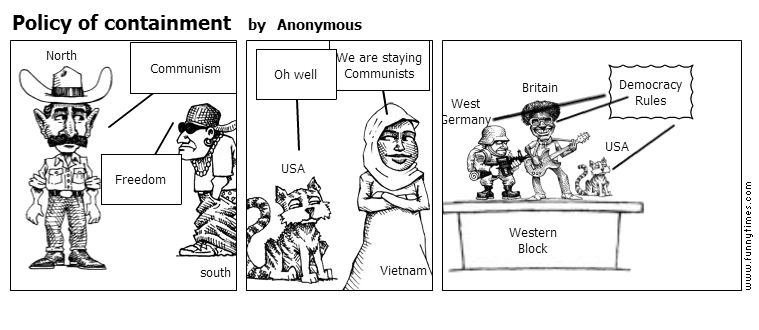 Policy of containment by Anonymous