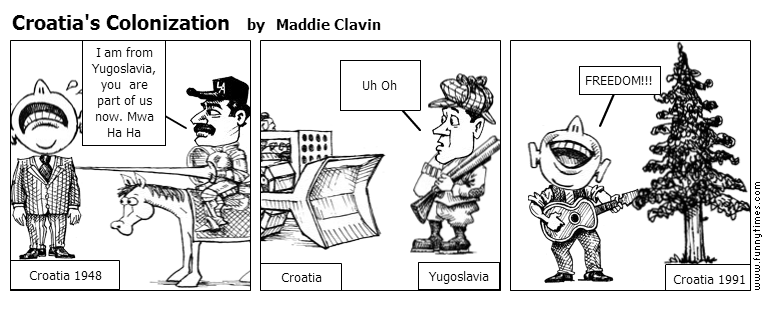 Croatia's Colonization by Maddie Clavin