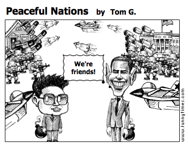 Peaceful Nations by Tom G.