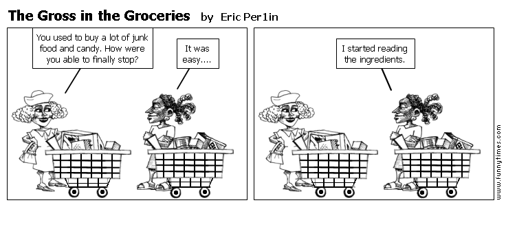The Gross in the Groceries by Eric Per1in