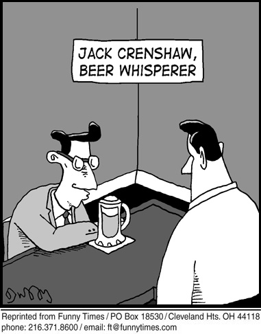 Funny child labor bar  cartoon, April 24, 2013