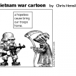 vietnam war cartoon