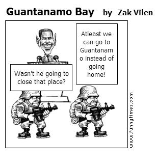 Guantanamo Bay by Zak Vilen