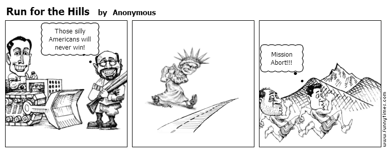 Run for the Hills by Anonymous