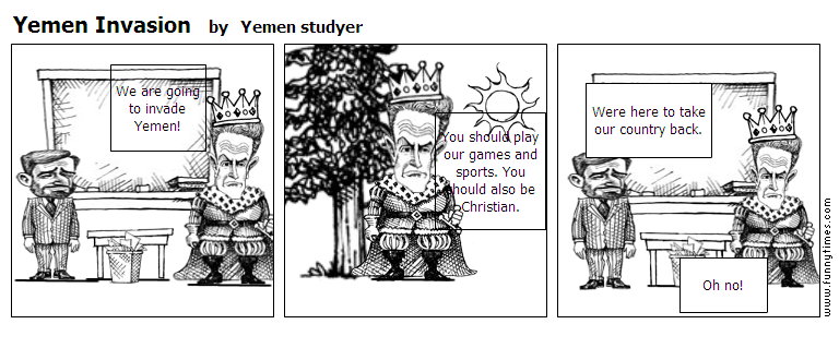 Yemen Invasion by Yemen studyer