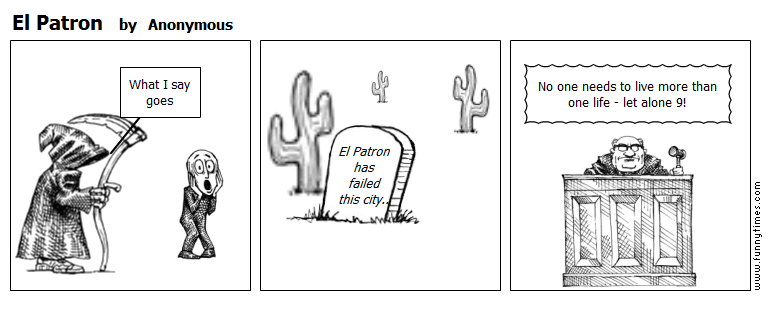 El Patron by Anonymous