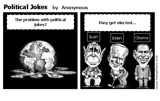Political Jokes by Anonymous