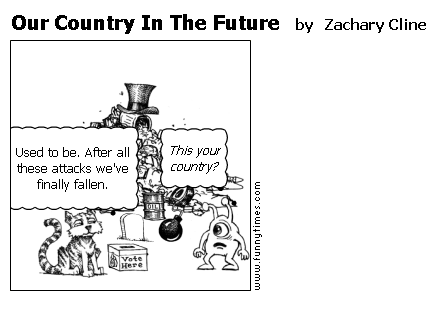 Our Country In The Future by Zachary Cline