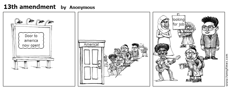 13th amendment by Anonymous