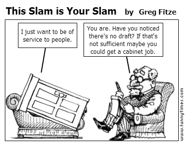 This Slam is Your Slam by Greg Fitze